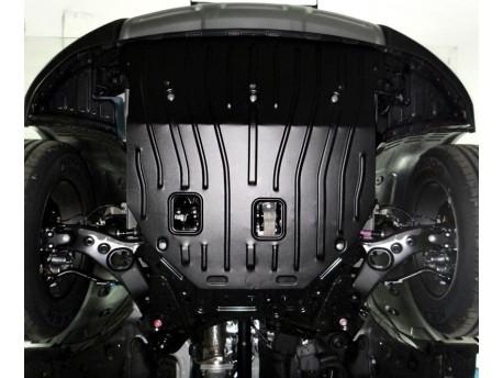 Фото Защита двигателя 2.5 мм для Hyundai Santa Fe 2013- Полигон-Авто