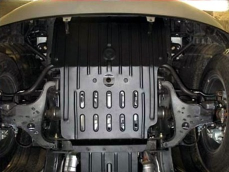 Фото Защита двигателя 2.5 мм для Infiniti QX80 (QX56) 2010-2014,14- Полигон-Авто