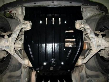 Фото Защита двигателя 2.5 мм для Jeep Cherokee 2001-2008 Полигон-Авто