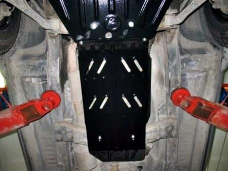 Фото Защита КПП и раздатки 2.5 мм для Jeep Cherokee 2001-2008 Полигон-Авто