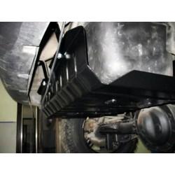 Защита топливного бака 2 мм для Jeep Cherokee 2001-2008 Полигон-Авто