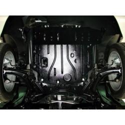 Защита двигателя 2.5 мм для Jeep Compass 2006-2010,11- Полигон-Авто