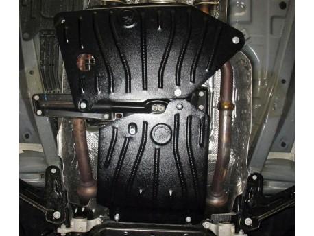 Фото Защита дифференциала 2.5 мм для Jeep Grand Cherokee 2011- Полигон-Авто