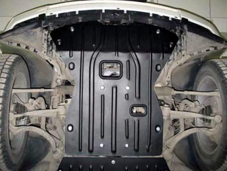 Фото Защита двигателя 2.5 мм для Land Rover Range Rover 2002-2012 Полигон-Авто