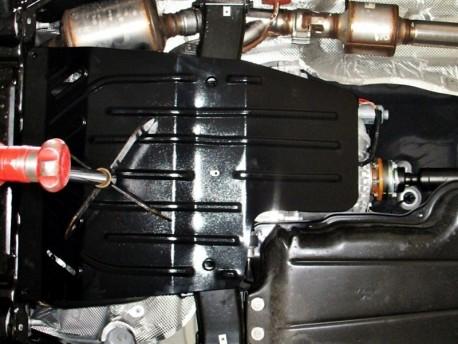 Фото Защита КПП и раздатки 2.5 мм для Land Rover Range Rover 2005-2013 Полигон-Авто