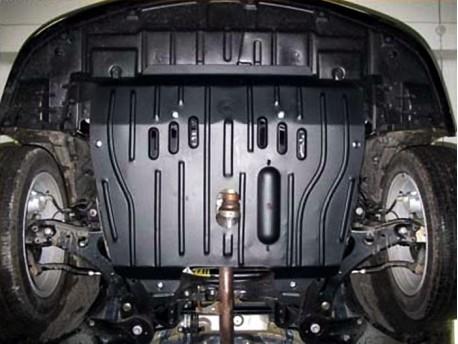 Фото Защита двигателя 2.5 мм для Lexus ES 2012- Полигон-Авто