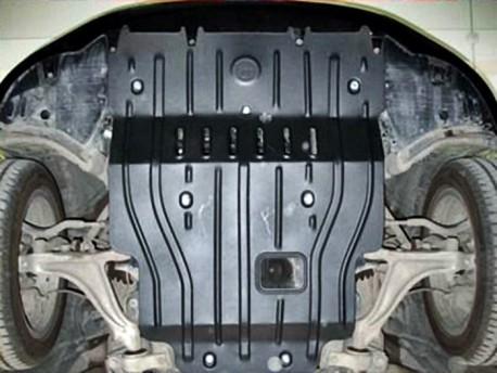 Фото Защита двигателя 2 мм для Lexus GS 2012-2015 Полигон-Авто