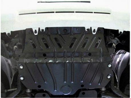 Фото Защита радиатора 2.5 мм для Lexus GX 2009-2013 Полигон-Авто