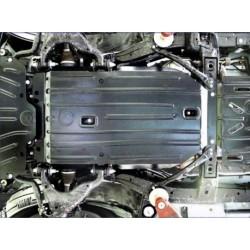Защита двигателя 2 мм для Lexus GX 2009-2013,13- Полигон-Авто