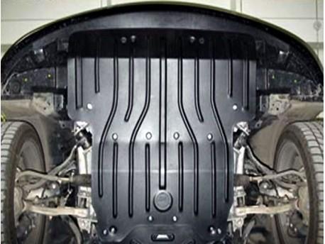 Фото Защита двигателя 2.5 мм для Lexus LS 2007-2012 Полигон-Авто