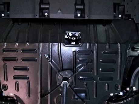 Фото Защита двигателя 2.5 мм для Lexus NX 2014- Полигон-Авто