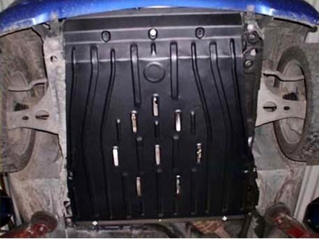 Фото Защита двигателя 2 мм для Mercedes A-Class 1997-2004 Полигон-Авто