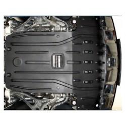 Защита двигателя 2.5 мм для Mercedes GL 2006-2012 4matic Полигон-Авто