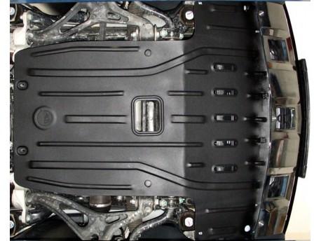 Фото Защита двигателя 2.5 мм для Mercedes GL 2006-2012 4matic Полигон-Авто