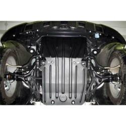 Защита двигателя 2.5 мм для Mercedes GL 2006-2012 Полигон-Авто