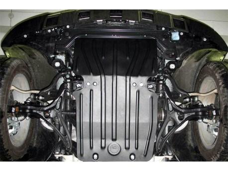 Фото Защита двигателя 2.5 мм для Mercedes GL 2006-2012 Полигон-Авто