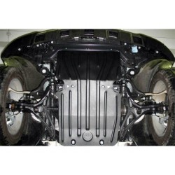 Защита двигателя 2.5 мм для Mercedes ML 2005-2011 Полигон-Авто