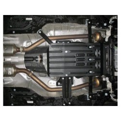 Защита КПП 2.5 мм для Mercedes ML 2005-2011 Полигон-Авто