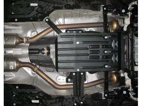 Фото Защита КПП 2.5 мм для Mercedes ML 2005-2011 Полигон-Авто