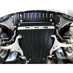 Защита двигателя 2 мм для Mercedes ML 2011- Полигон-Авто