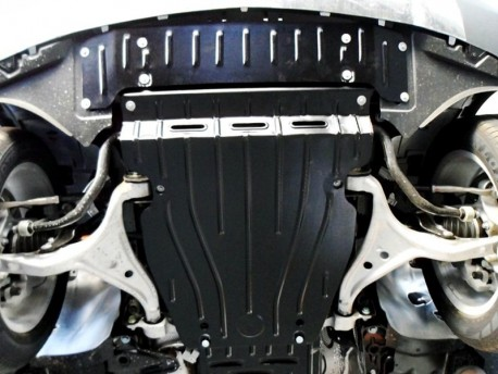 Фото Защита двигателя 2 мм для Mercedes ML 2011- Полигон-Авто