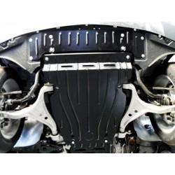 Защита радиатора 2.5 мм для Mercedes ML 2011- Полигон-Авто