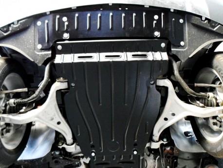 Фото Защита радиатора 2.5 мм для Mercedes ML 2011- Полигон-Авто