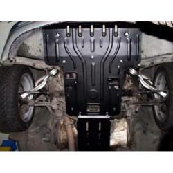 Защита двигателя 2 мм для Mercedes S-Class 1998-2002 Полигон-Авто