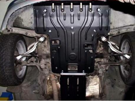 Фото Защита двигателя 2 мм для Mercedes S-Class 1998-2002 Полигон-Авто