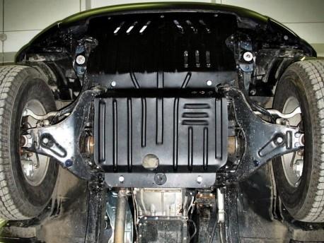Фото Защита двигателя 2.5 мм для Mitsubishi L200 2006-2016 Полигон-Авто