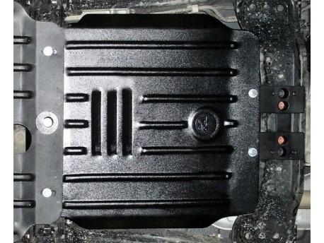 Фото Защита КПП 2.5 мм для Mitsubishi L200 2006-2016 Полигон-Авто