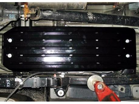 Фото Защита топливного бака 2 мм для Mitsubishi L200 2006-2016,16- Полигон-Авто