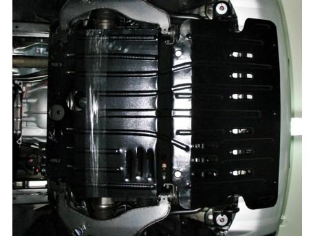 Фото Защита двигателя 2.5 мм для Mitsubishi Pajero Sport 2008-2015 Полигон-Авто