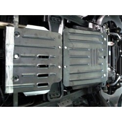 Защита КПП 2.5 мм для Mitsubishi Pajero Sport 2008-2015 Полигон-Авто