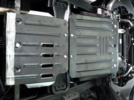 Фото Защита КПП 2.5 мм для Mitsubishi Pajero Sport 2008-2015 Полигон-Авто