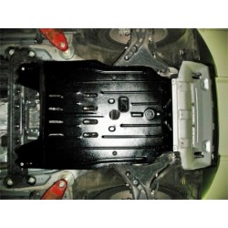 Защита двигателя 2 мм для Mitsubishi Pajero 2000-2006,06- Полигон-Авто