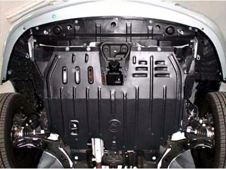 Фото Защита двигателя 2.5 мм для Nissan Almera 2006-2013 Полигон-Авто