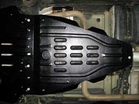 Фото Защита раздатки 2.5 мм для Nissan Navara 2005-2014 Полигон-Авто