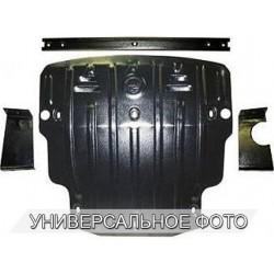 Защита топливного бака 2.5 мм для Nissan Navara 2005-2014 Полигон-Авто