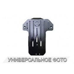 Защита КПП 2.5 мм для Nissan NP300 2005- Полигон-Авто