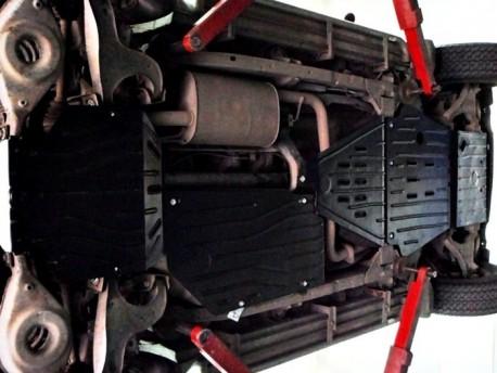 Фото Защита радиатора 2.5 мм для Nissan Pathfinder 2004-2015 Полигон-Авто