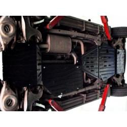 Защита дифференциала 2 мм для Nissan Pathfinder 2004-2015 Полигон-Авто