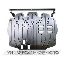 Защита двигателя 2.5 мм для Nissan Patrol 2004-2010 Полигон-Авто