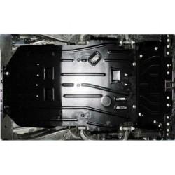Защита двигателя 2 мм для Nissan Patrol 2010-2014,14- Полигон-Авто