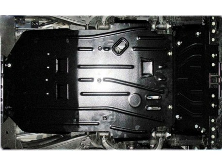 Фото Защита двигателя 2 мм для Nissan Patrol 2010-2014,14- Полигон-Авто