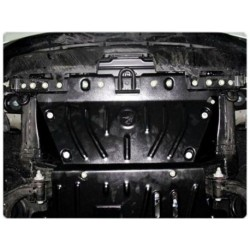 Защита радиатора 2.5 мм для Nissan Patrol 2010-2014,14- Полигон-Авто