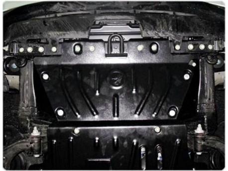 Фото Защита радиатора 2.5 мм для Nissan Patrol 2010-2014,14- Полигон-Авто