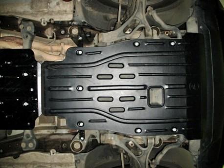 Фото Защита двигателя 2.5 мм для Porsche Cayenne 2003-2014,14- Полигон-Авто