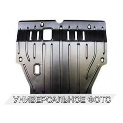 Защита двигателя 2 мм для Renault Captur 2013- Полигон-Авто