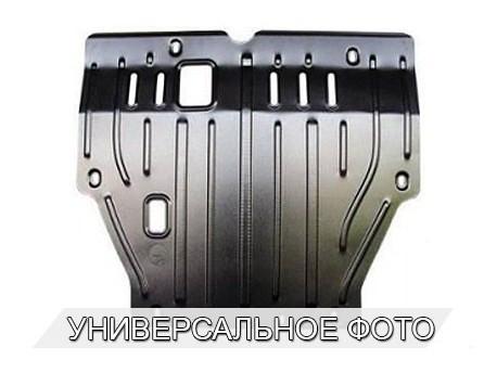 Фото Защита двигателя 2 мм для Renault Captur 2013- Полигон-Авто